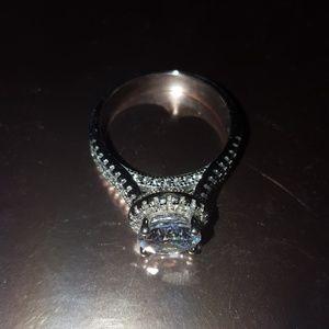 Stunning genuine S925 silver ring