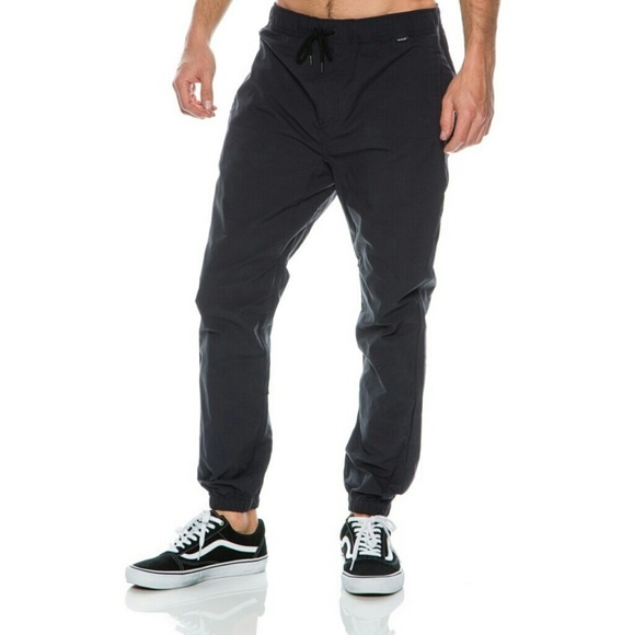 1e5a596f4f2 NWT Hurley Nike Dri-FIT Drifter Jogger Pants Black
