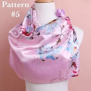 Accessories - ✨Silk Satin Scarf - Pink, Color #5