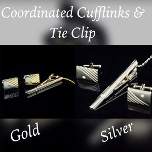 Other - Coordinated Cuff Links & Tie Clip Sets