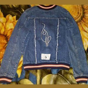 Baby Phat Denim Button Front Jacket RARE