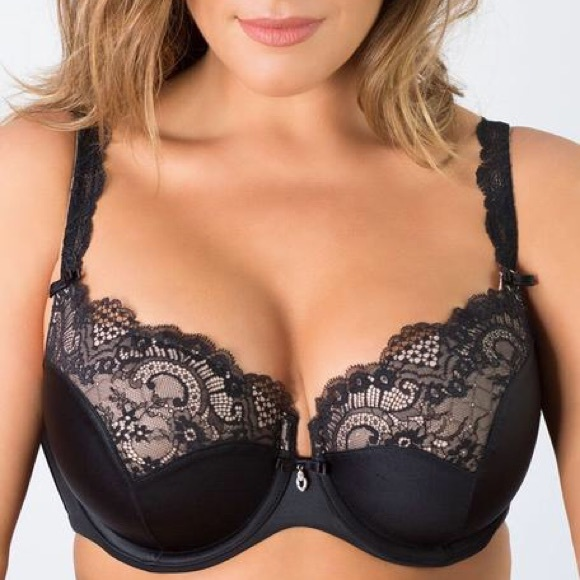 bfc318bb979 Curvy Couture Bra - TULIP LACE PUSH UP