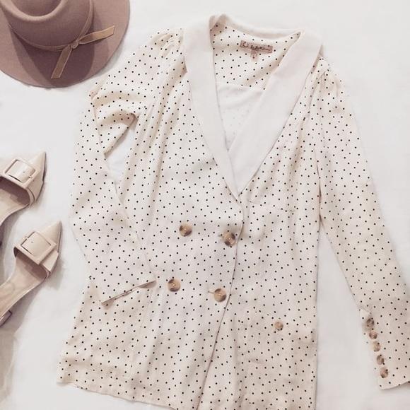 1f7b08b98cbc4 For Love And Lemons Dresses | For Love Lemons Bianca Blazer Dress ...
