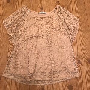 Forever 21 Lace Top with Lining