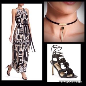 Animal Instinct Maxi Dress by Maggy London