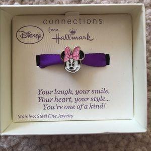 Minnie Mouse charm for Pandora style bracelet.