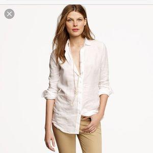 Jcrew linen shirt