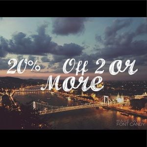 20% off bundles 💕