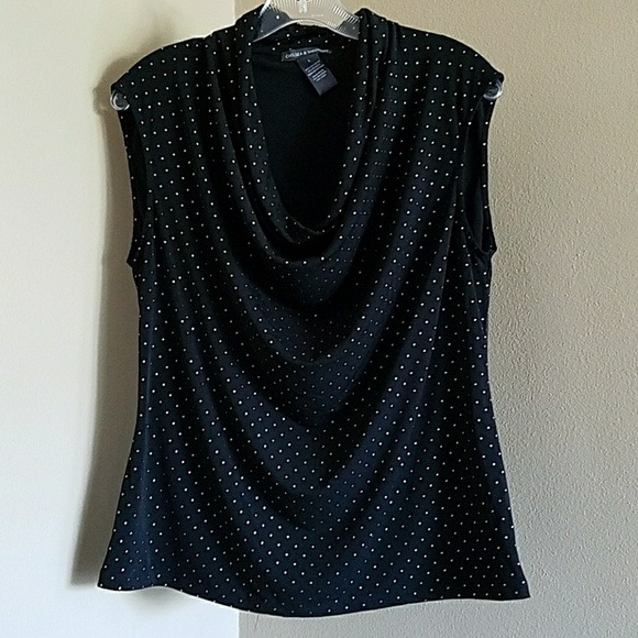 d2b076a34a1 chelsea   theodore Tops - Chelsea and theodore studded black blouse