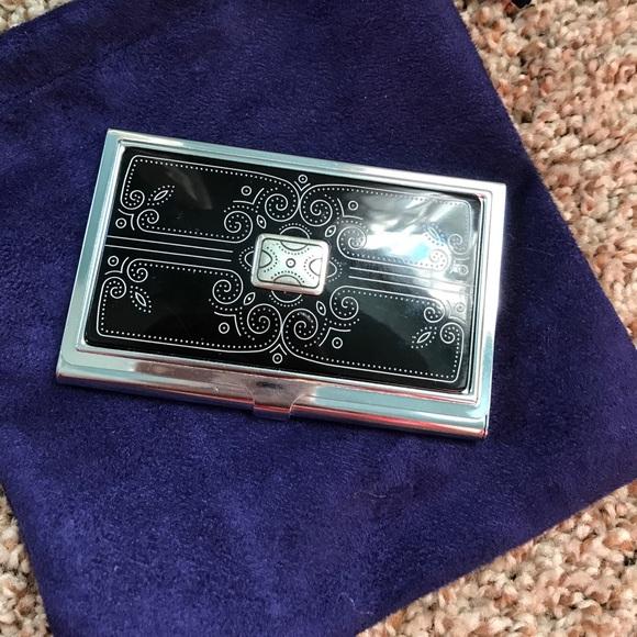 53 off brighton accessories brighton business card holder from brighton business card holder colourmoves Images