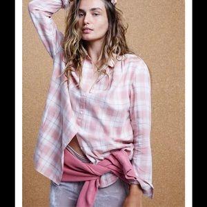 MADEWELL Central Long-Sleeve Shirt Danville Plaid