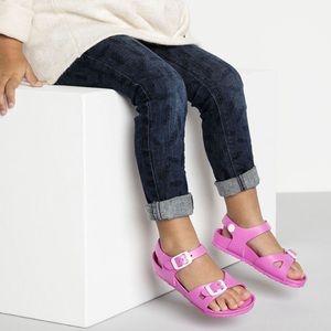Lavender-pink Birkenstock Toddler Girl Sz 27