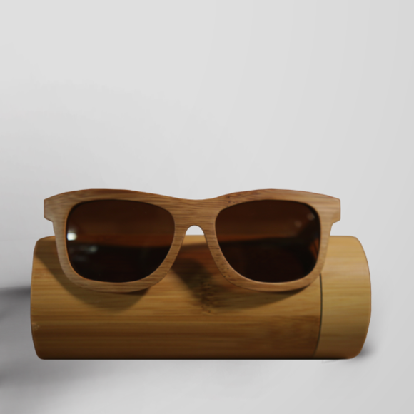 ff105c7b47 NWT Bamboo unisex sunglasses with case