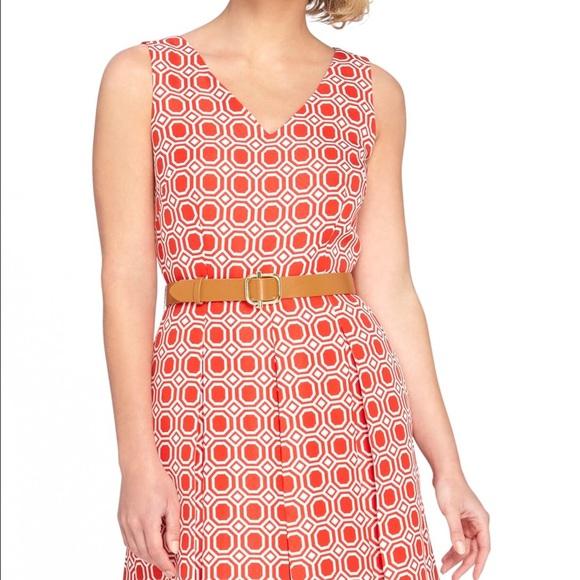 866892a04174 Tahari Dresses | Asl Jacquard Fit And Flare Dress With Belt | Poshmark