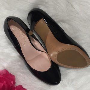 NEW Elie Tahari Black Patent Leather Vivianna Pump