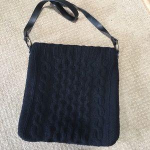 NWOT Gap knitted cross shoulder bag