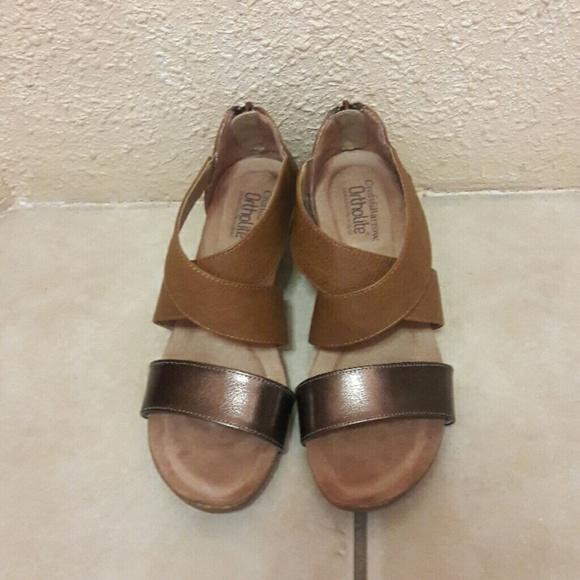 c91cf86466c croft   barrow Shoes - CROFT   BARROW ORTHOLITE SANDALS