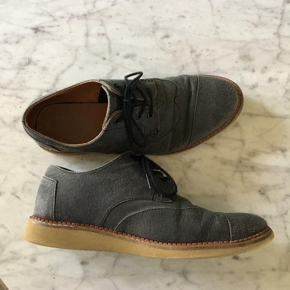 2598826769d Toms Other - TOMS Ash Aviator Twill Men s Brogues Shoes