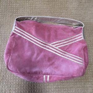 Lauren Merkin suede shoulder bag