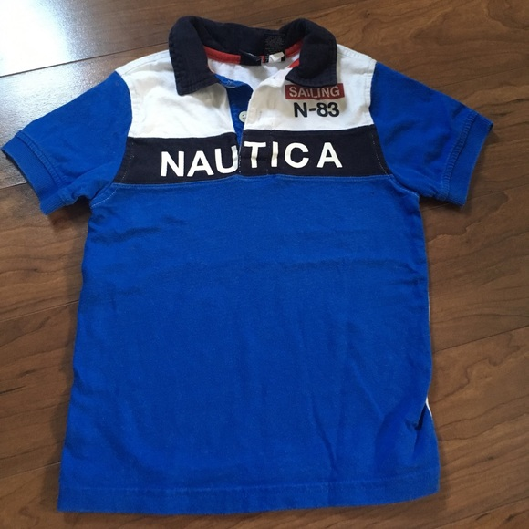 80 Off Nautica Other Boys N Utica Sailing Polo Shirt 4t