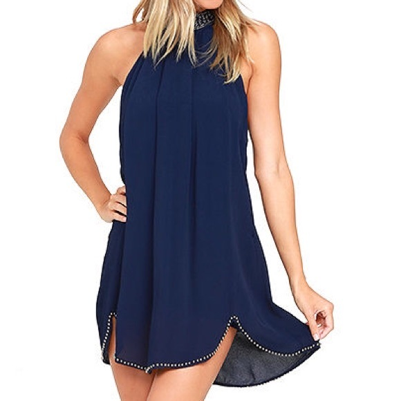 Lourdes Dress in Navy NBD Clearance Sale Free Shipping Discounts Great Deals View Discount Order xvPyOGA
