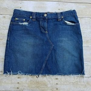 J Crew Denim Skirt