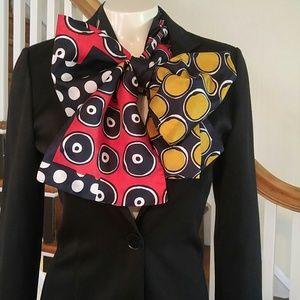 Vintage Graphic Necktie Scarf ⭐WoW⭐