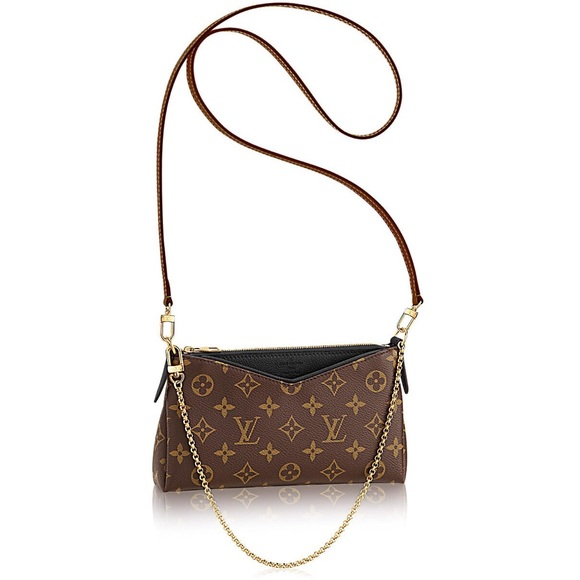 35f9388aa7 Louis Vuitton Bags   Pallas Clutch Crossbody Noir   Poshmark