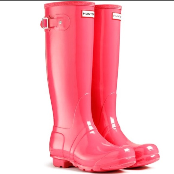 41% off Hunter Boots Shoes - Coral pink Hunter Rain Boots from ...