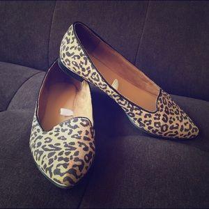 Leopard print flats size 7 1/2