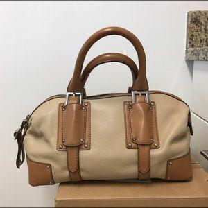 Banana Republic Leather Bowler Bag