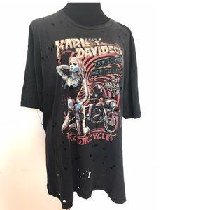 Amazing vintage Harley Davidson T-shirt