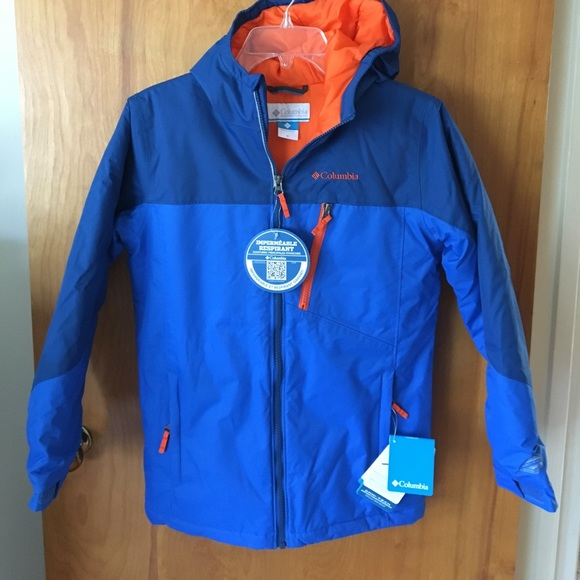 Boys Double Grab Columbia Coat NWT