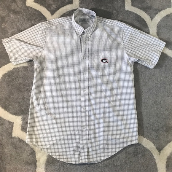University of georgia button down shirt m from kelsey 39 s for College button down shirts