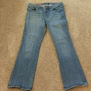 Reduced! J. Crew Stretch Hipslung Jeans 32