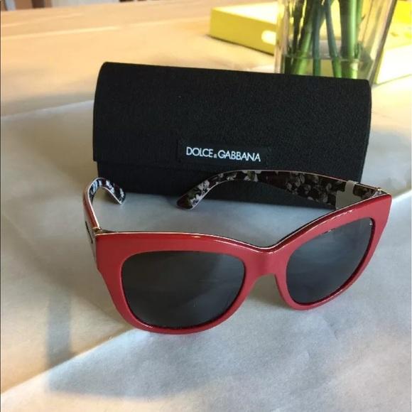 cd2bff8fb Dolce & Gabbana Accessories | New Dolce Gabbana Dg 4270 Red Unisex ...