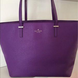 Kate Spade Cedar Street Harmony Purple Tote Bag