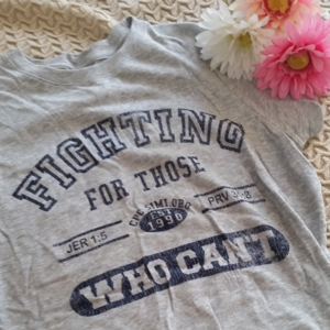 """Tops - """"Fighting For Those Who Can't"""" CPC T-Shirt"""