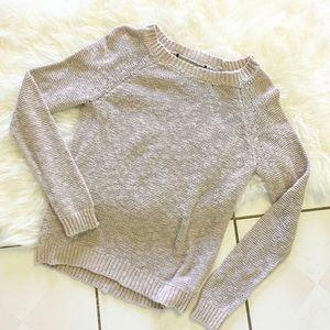 Sweaters - Beige tan Knit sweater
