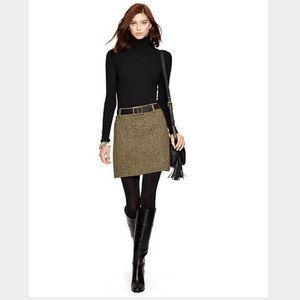 Ralph Lauren Blue Label Herringbone Skirt