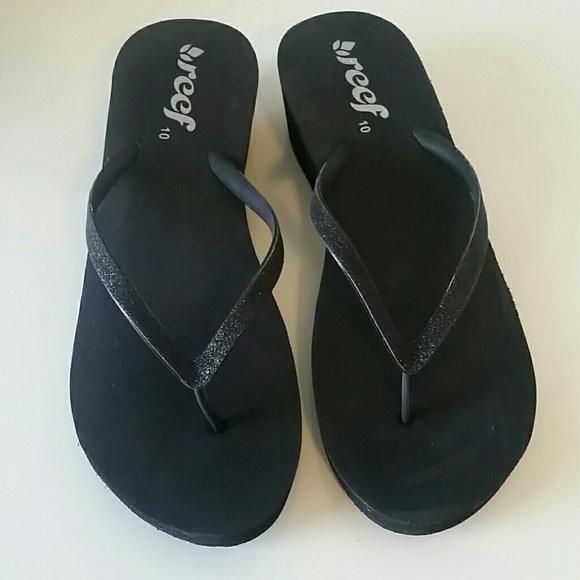 49209413ae5 Reef Krystal Star Sassy wedge sandal. M 59628ff7c6c795e1240882c9