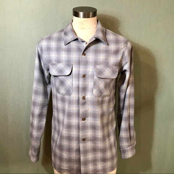 70 Off Pendleton Other Pendleton Mens Wool Button Down