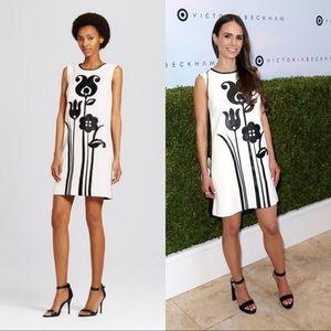 Victoria Beckham x Target tulip appliqué dress