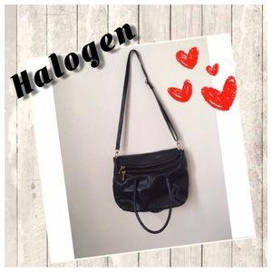 Leather Halogen crossbody bag