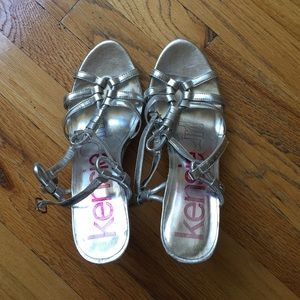 Kensie Girl Daville Cork Wedge Sandal Size 9
