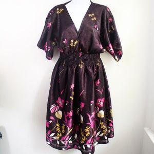 Dresses & Skirts - Floral Flared Bohemian Dress
