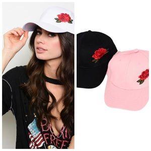 Accessories - Rose Hat