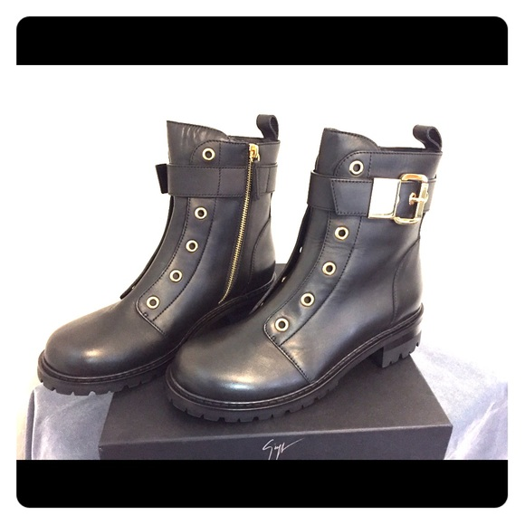 7b0713fc64fe6 Giuseppe Zanotti Shoes | New Combat Boots | Poshmark