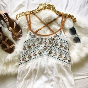 Miss Me Tribal Embellished Dress