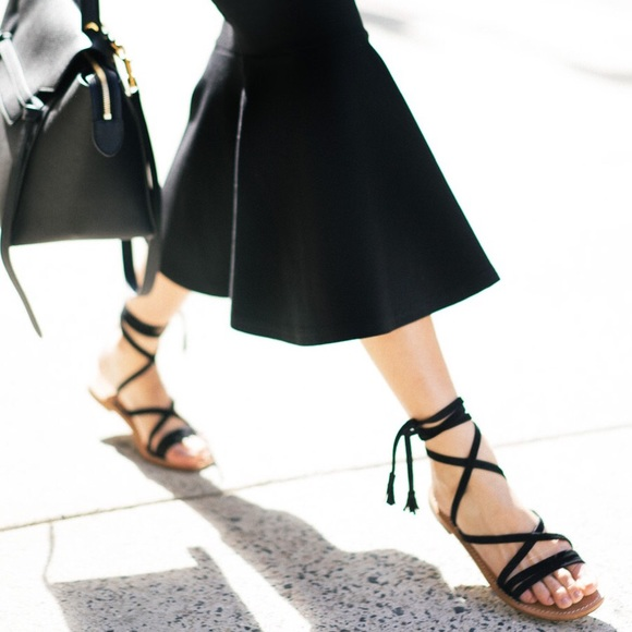 622111e6b99f Capri Positano Shoes - Capri Positano Pompeii Suede Lace-up Sandals